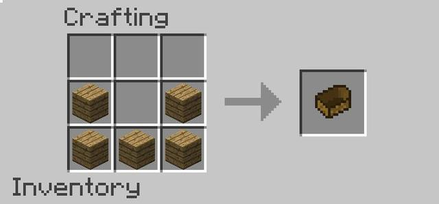 How To Crafting A Boat In Minecraft Game ゲーム Spiele Games - Minecraft crafting spiele